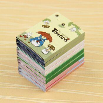 1 PC Kawaii Totoro Melody 6 Folding Memo Pad Sticky Notes Memo Notepad Bookmark Gift Stationery Uncategorized
