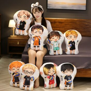 Haikyuu!! Different Characters Cute Plushies (8 Designs) Dolls & Plushies