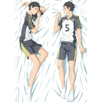 Haikyuu!! – All awesome characters Dakimakura Hugging Body Pillow covers (20+ Designs) Bed & Pillow Covers
