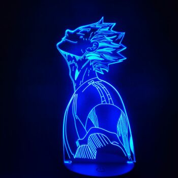 Haikyuu!! – Bokuto 3D RGB Lighting Lamp (Different modes) Lamps