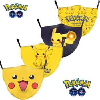 Pokemon – Different cute Pokemons Face Masks (35+ Designs) Face Masks