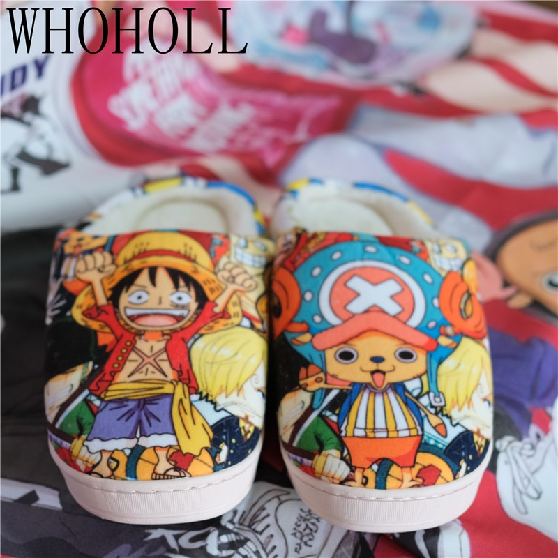 20 Anime Cute Plush Slippers Shoes & Slippers