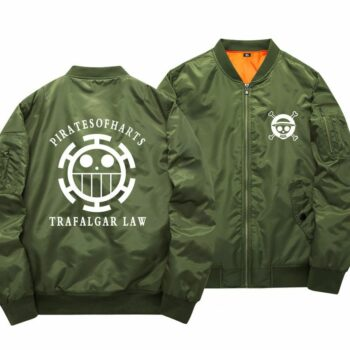 One Piece – Different Characters Warm Baseball Jackets (10+ Designs) Jackets & Coats