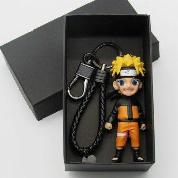 Naruto Key Chain Naruto Daisy Fields Kakashi I Aro Fourth Generation Weasels Garage Kit Key Ring Pendant Doll Uncategorized