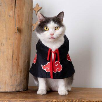 Naruto – Akatsuki Themed Cat Cloak (3 Sizes) Cosplay & Accessories