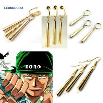 One Piece – Zoro's Themed Stylish Earrings (4 Designs) Rings & Earrings
