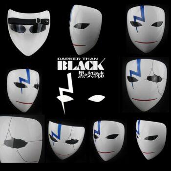 Darker Than Black – Hei Li Themed Cosplay Masks (2 Designs) Face Masks