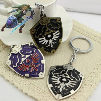 Game The Legend of Zelda Keychain Cosplay Accessories Prop Pendant Keyring Jewelry Uncategorized