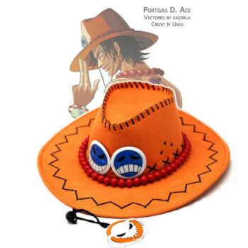 One Piece – Portgas D. Ace's Cosplay Hat Caps & Hats