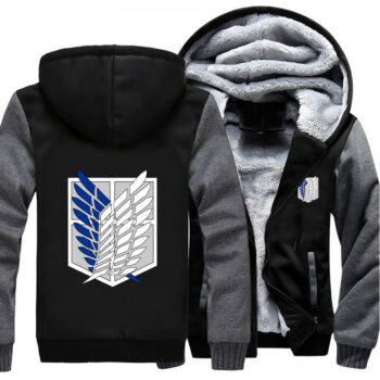 Attack on Titan – Survey Corps Premium Hoodies (8 Designs) Hoodies & Sweatshirts
