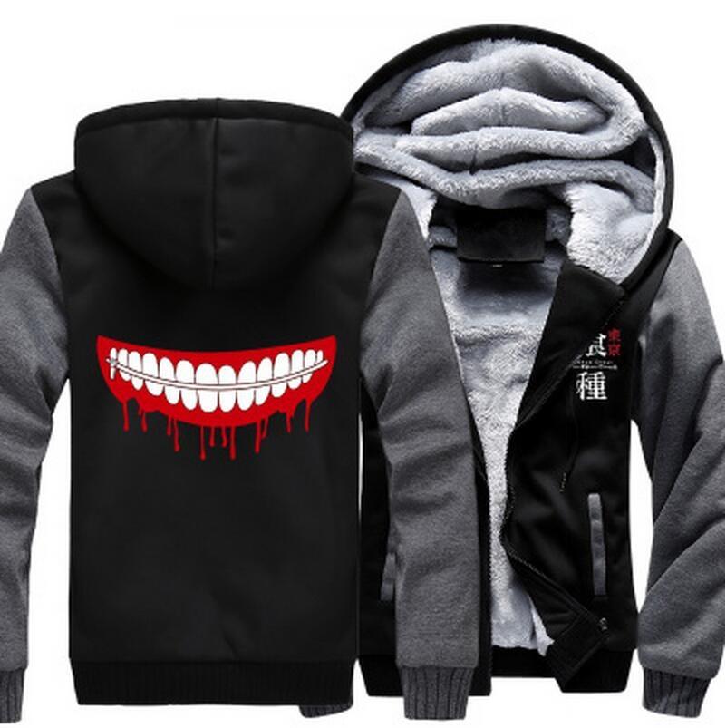 Tokyo Ghoul – Ken Kaneki Smiling Mask Themed Hoodies (8 Designs) Hoodies & Sweatshirts