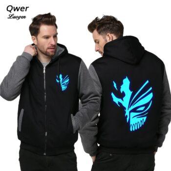 Bleach – Ichigo Themed Luminous Warm Jackets (4 Designs) Hoodies & Sweatshirts