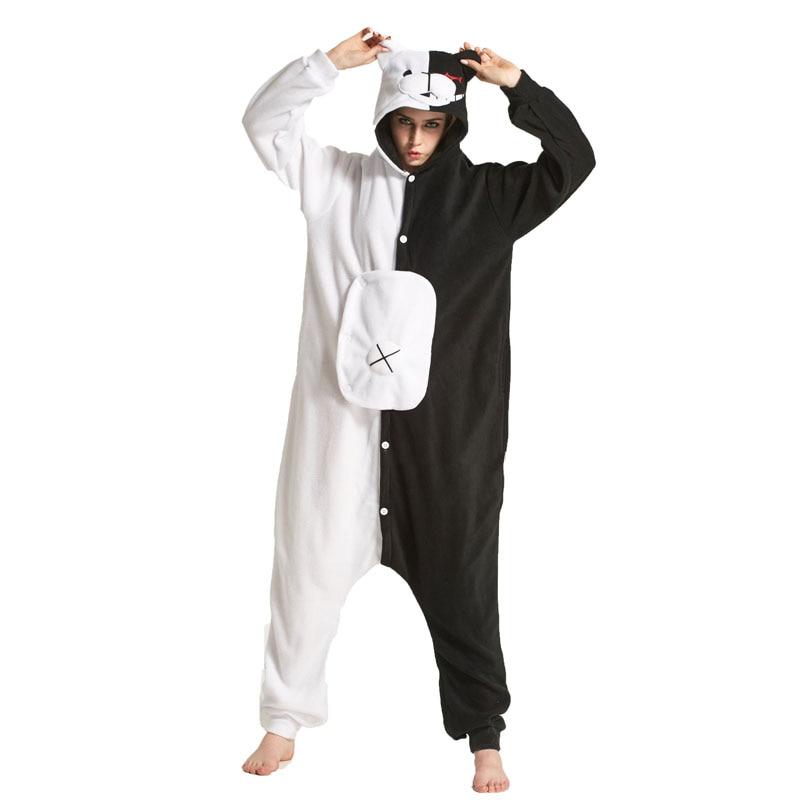 Danganronpa – Monokuma Themed Full Body Cosplay Sleepwear (Different Sizes) Cosplay & Accessories