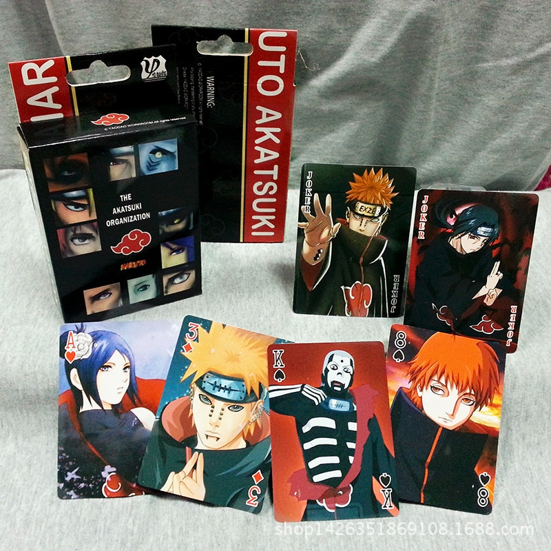 Naruto – Different Characters Card Packs for Poker and Board Games (2 Sets) Games
