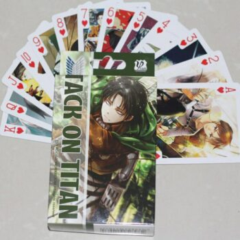 Attack on Titan – Pack of Cards for Board Games (54 Pcs per pack) Games