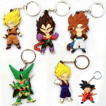 Dragon Ball – Different Heroes and Villains Keychains (9 Designs) Keychains