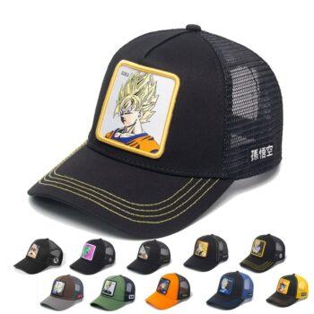 Dragon Ball – Different Characters Baseball/Summer Caps (30 Designs) Caps & Hats