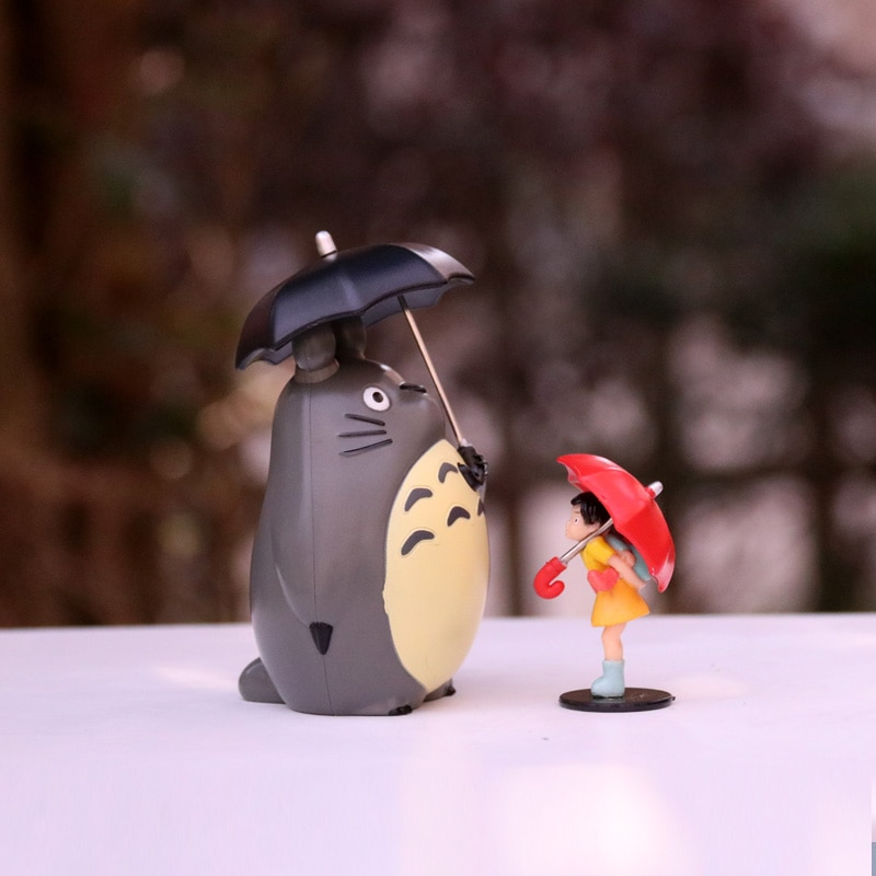 My Neighbor Totoro – Different Characters Themed PVC Action Figures (8 Designs) Action & Toy Figures