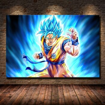 Dragon Ball – Goku and Vegeta Themed Different Amazing Posters (10 Designs) Posters