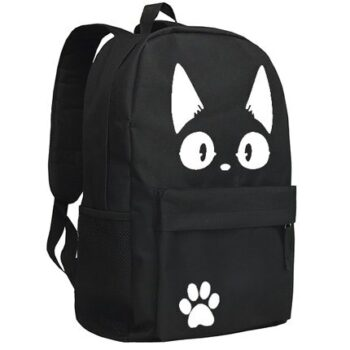 Kiki's Delivery Service – Jiji themed Backpacks (2 Colors) Bags & Backpacks