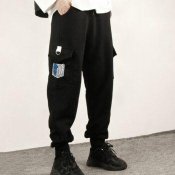 Attack on Titan – Survey Corps themed Sweatpants/Sports Pants (10+ Designs) Pants & Shorts