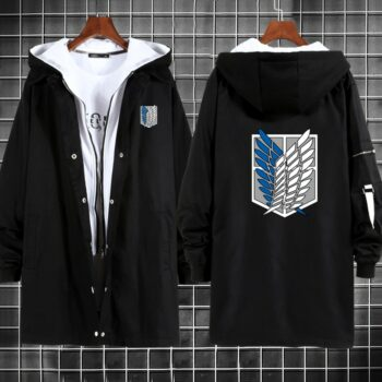 Attack on Titan – Survey Corps Style Overcoats (7 Colors) Jackets & Coats