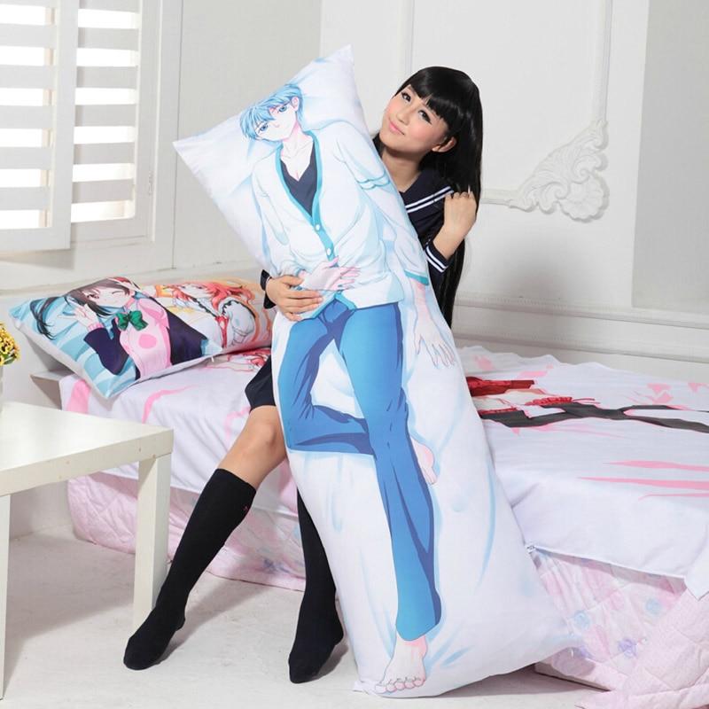 Danganronpa – Nagito Komaeda Dakimakura Hugging Body Pillow Cover (4 Designs) Bed & Pillow Covers