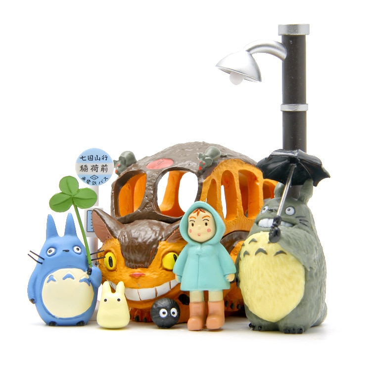 My Neighbor Totoro – All Characters Action Figures (8 Figures) Action & Toy Figures