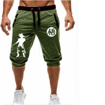 Dragon Ball – Goku Themed Gym and Jogging Shorts (8 Designs) Pants & Shorts