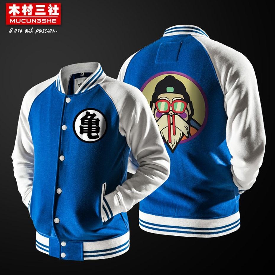 Dragon Ball – Master Roshi Themed Casual Jackets (5 Designs) Jackets & Coats