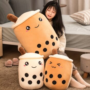 Anime Style Cute Tea Cup Plush Pillow Toy (6 Designs) Dolls & Plushies