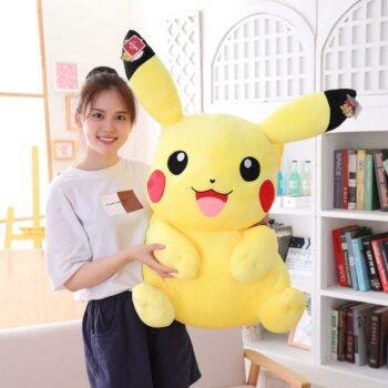 Pokemon – Pikachu Big Sized Stuffed Plush Toy (Different Sizes) Dolls & Plushies