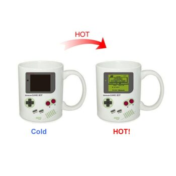 Game Boy themed design changing mug Mugs