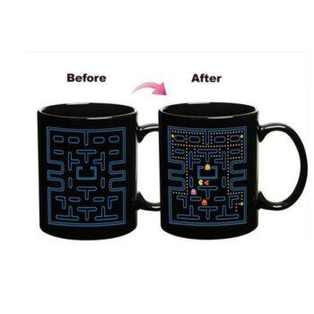 Pacman themed design changing mug Mugs