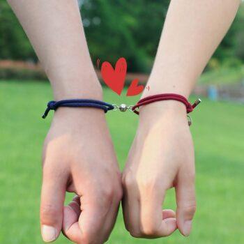 Cute Magnetic Bracelets for Friends or Couples (15+ Designs) Bracelets