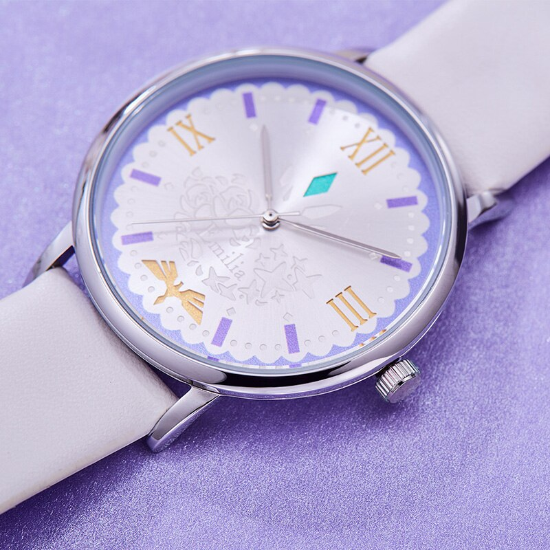 Re:Zero − Starting Life in Another World – Emilia Themed Stylish and Waterproof Watch Watches
