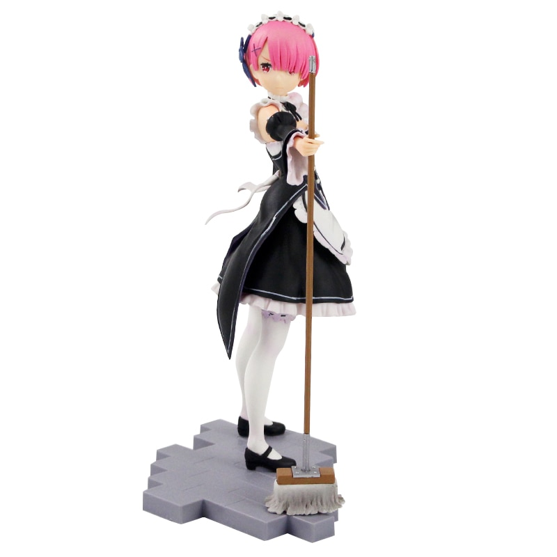 Re:Zero − Starting Life in Another World – Ram and Rem PVC Action Figures (6 Designs) Action & Toy Figures