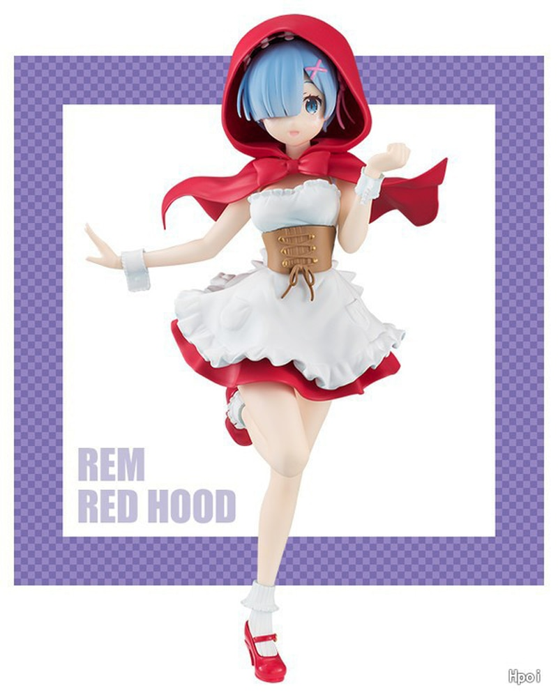 Re:Zero − Starting Life in Another World – Ram and Rem PVC Action Figures (10 Designs) Action & Toy Figures
