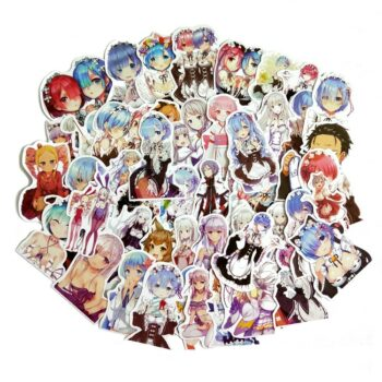 Re:Zero − Starting Life in Another World – All-in-One Characters Pack of Stickers (50 Pieces) Posters