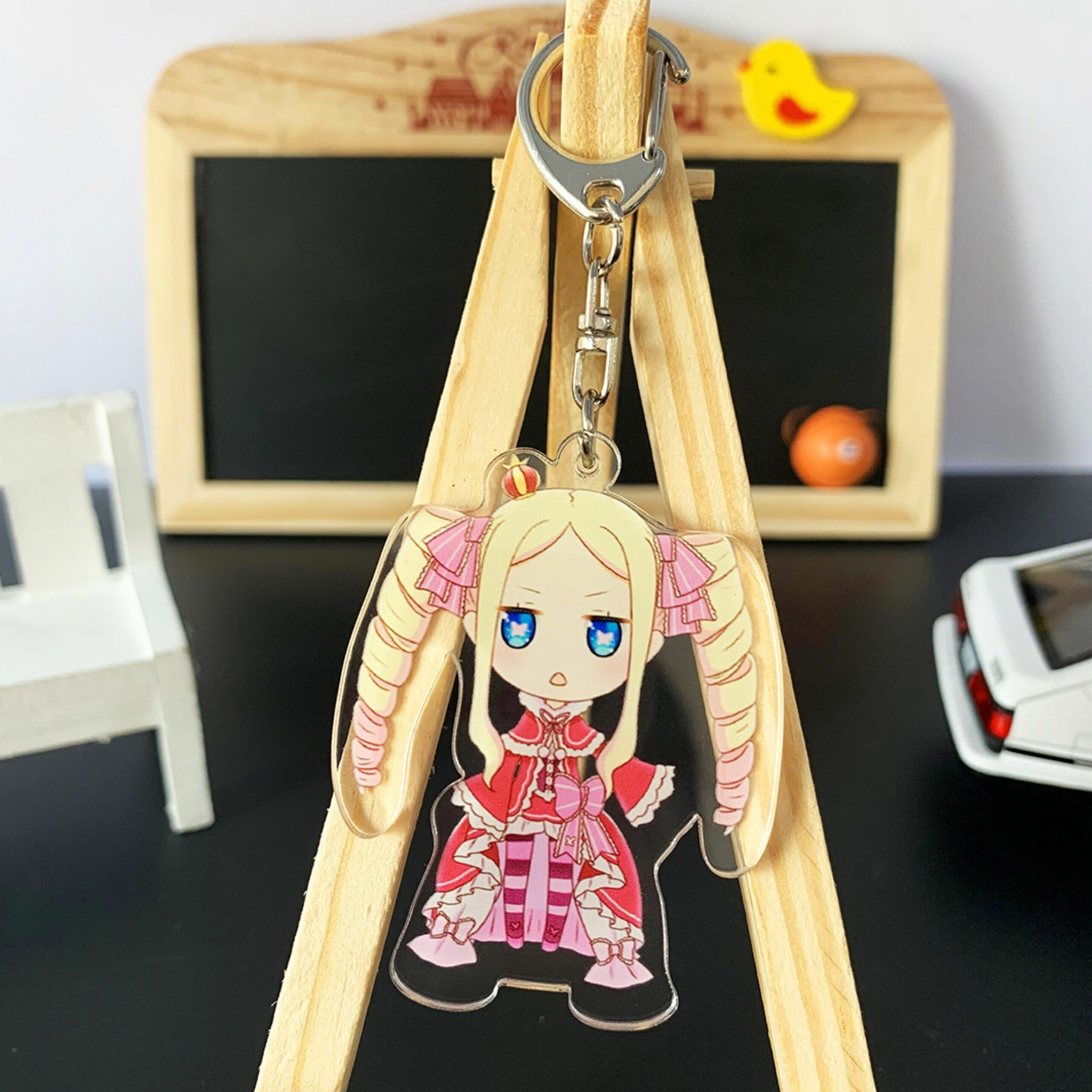 Re:Zero − Starting Life in Another World – Different Characters Cute Keychains (10+ Designs) Keychains