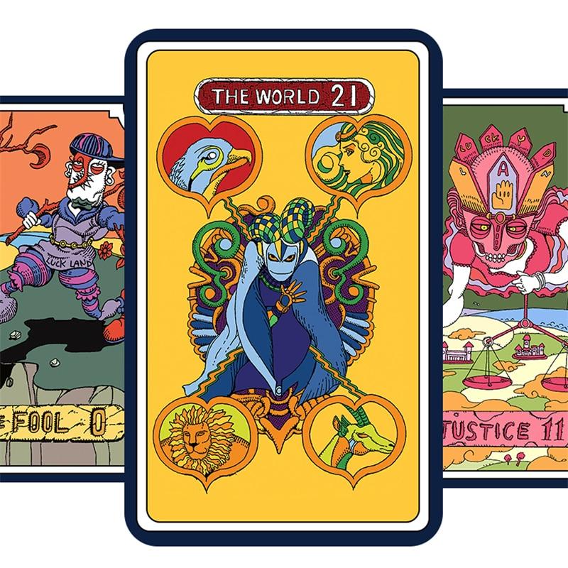 JoJo's Bizarre Adventure – All characters themed Set of Tarot Cards (2 Designs) Games