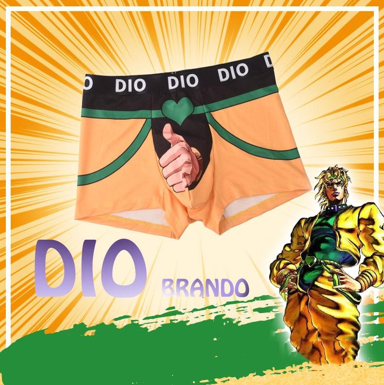 JoJo's Bizarre Adventure – Dio Themed Boxers (Men/Women) Pants & Shorts