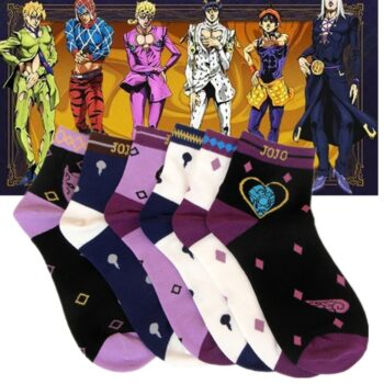 JoJo's Bizarre Adventure – Different Characters Themed Stretchable Socks (10+ Designs) Shoes & Slippers