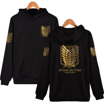 Attack on Titan – Different Styles Hoodies – Survey Corps (15 Colors) Hoodies & Sweatshirts
