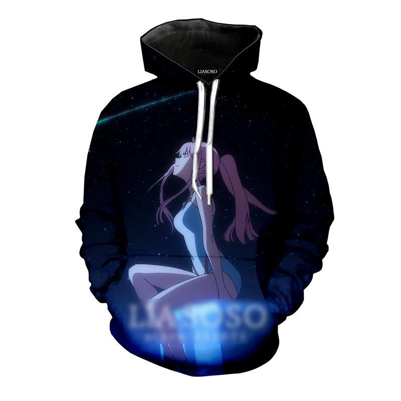 Darling in the Franxx – Zero Two 3D Printed Hoodies (12 Styles) Hoodies & Sweatshirts