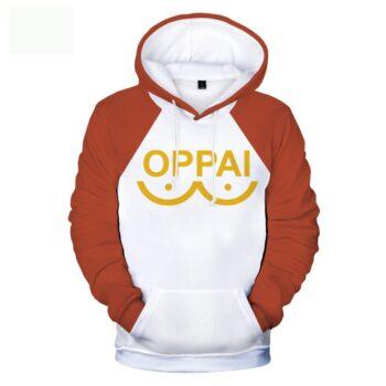 One Punch Man – Saitama Oppai Themed Hoodies (6 Colors) Hoodies & Sweatshirts