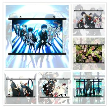 Blue Exorcist – All-in-One Characters Scroll Posters (7 Designs) Posters