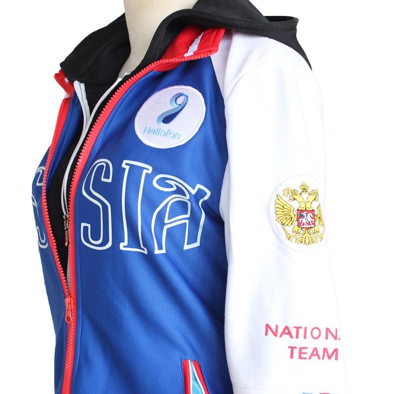 Yuri on Ice – Yuri Cosplay Sportswear or Hoodie (2 Designs) Hoodies & Sweatshirts