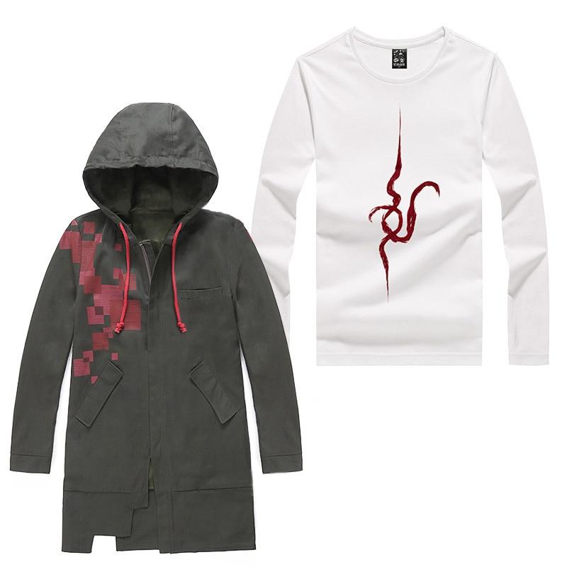 Danganronpa – Nagito Komaeda themed Hoodies (2 Designs) Hoodies & Sweatshirts