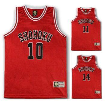 Slam Dunk – Shohoku School Basketball Team Red Jersey (15+ Designs) T-Shirts & Tank Tops